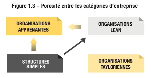 Porosité entre les catégories d'entreprise